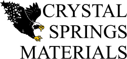 Crystal Springs Materials Logo
